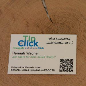 Tip@Click Cards mit User ID inkl. Firmenbezeichnung (200 Stk.)