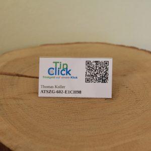 Tip@Click Anstecknadel mit UserID